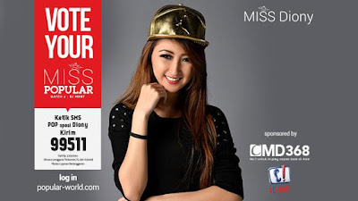 MISS POPULAR 2015 : DJ Diony