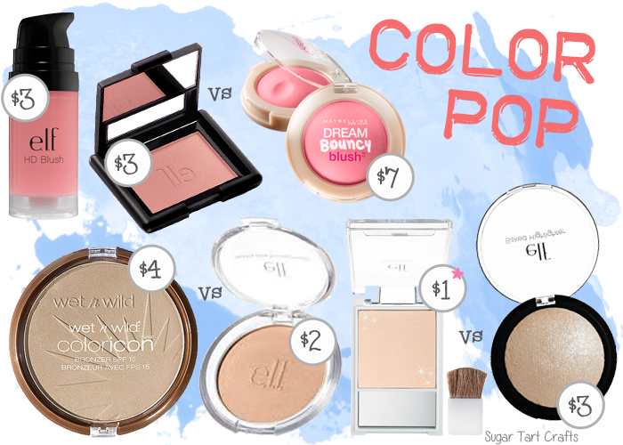 My favorite affordable blushes, bronzers, and highlighters.
