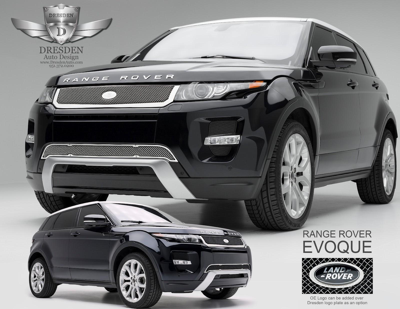 Land Rover Evoque Aftermarket Accessories >> Dresden Auto Announces New Brighton Luxury Grille For Range Rover