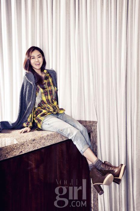Gayoon 4minute Vogue Girl Magazine 3
