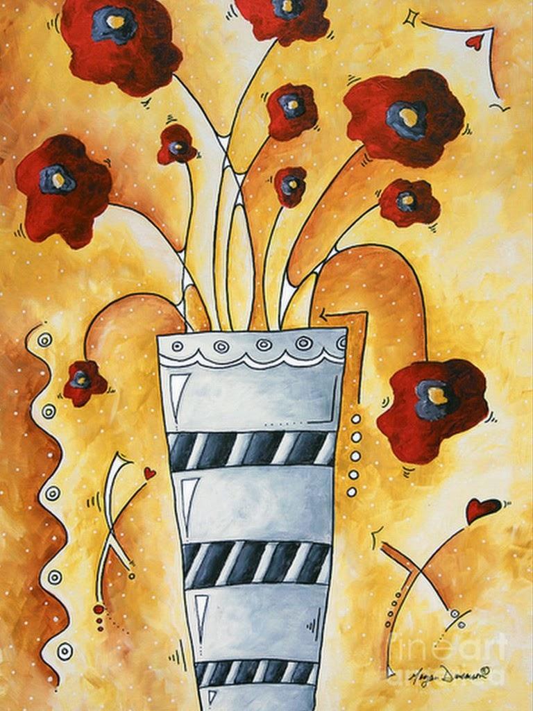bodegon-moderno-de-flores-rojas