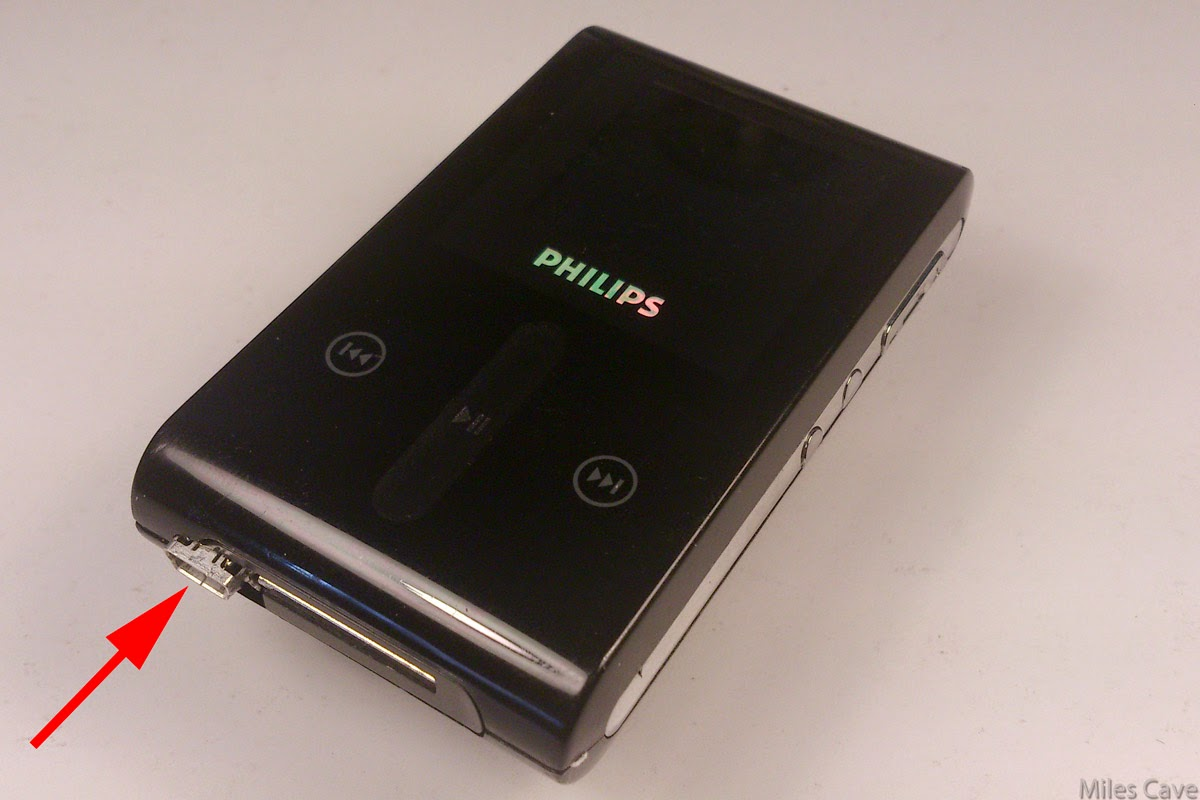 mp3 philips hdd 1420: