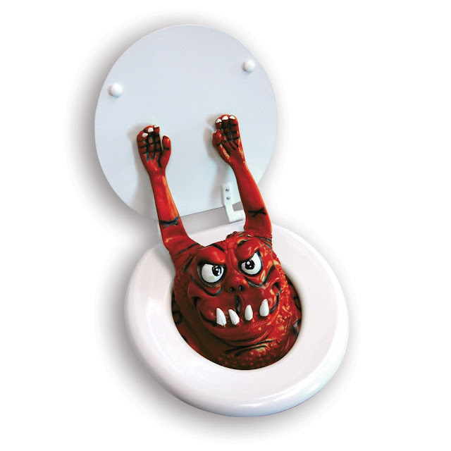 Toilet Monster Prank