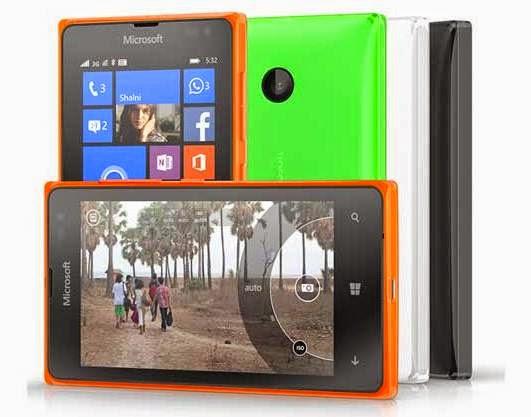 Microsoft Lumia 532 Spesifikasi