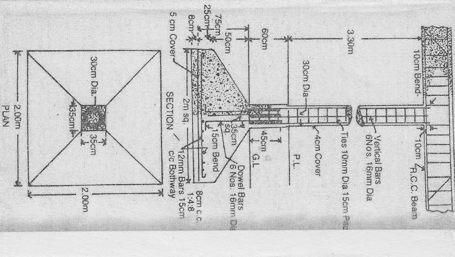 Rcc Slab Design : Rcc t beam column slab roof design example