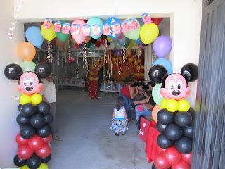 DECORACION MICKEY MOUSE 2 FIESTAS INFANTILES RECREACIONISTAS MEDELLIN