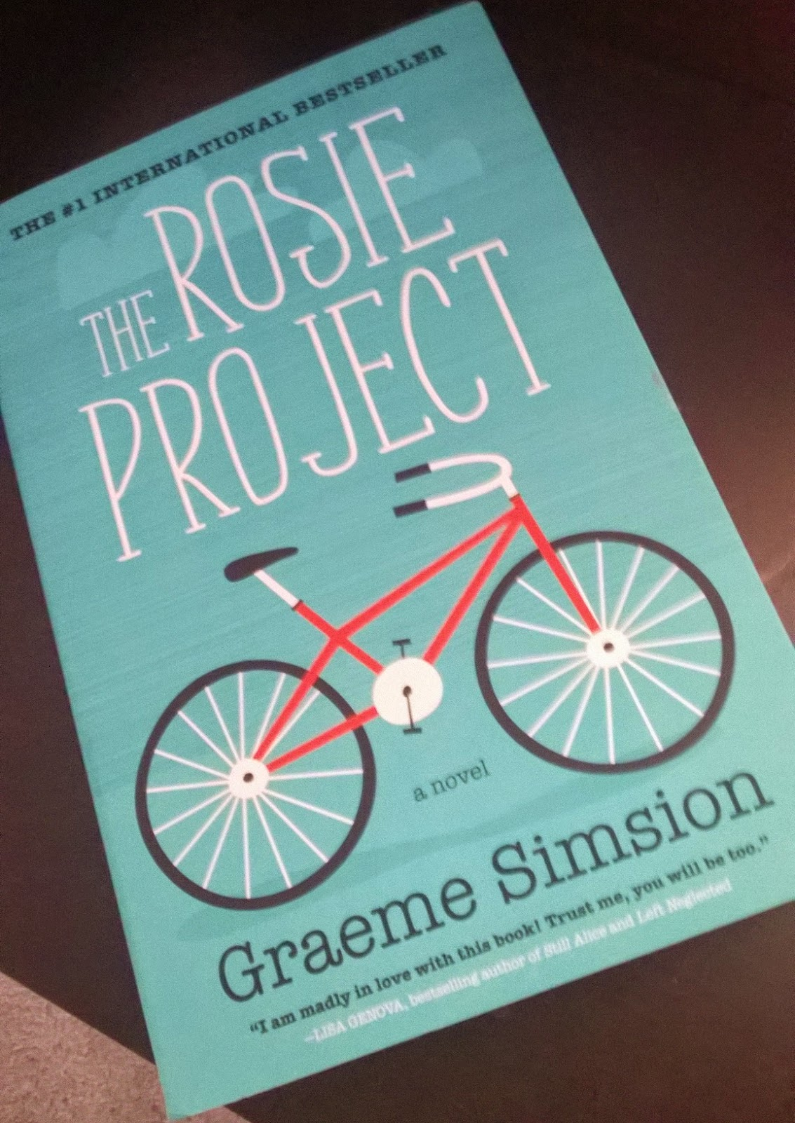 I Figured I'd Get Started On Book Two Right Away Up Next Is Graeme  Simsion's The Rosie Project I'll Be Continuing This Series With The Rosie  Effect For My