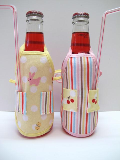 Сшить оригинальный чехольчик на бутылку ВЫКРОЙКИ НА 11