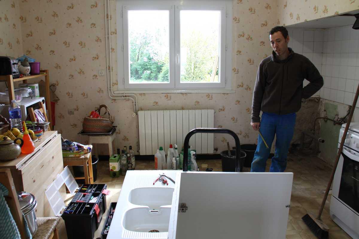 la serre chez laure et nico travaux d 39 int rieur. Black Bedroom Furniture Sets. Home Design Ideas