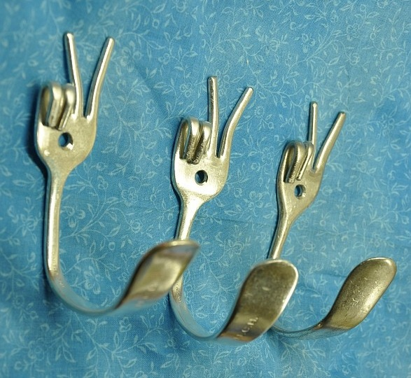 Вешалки крючки своими руками