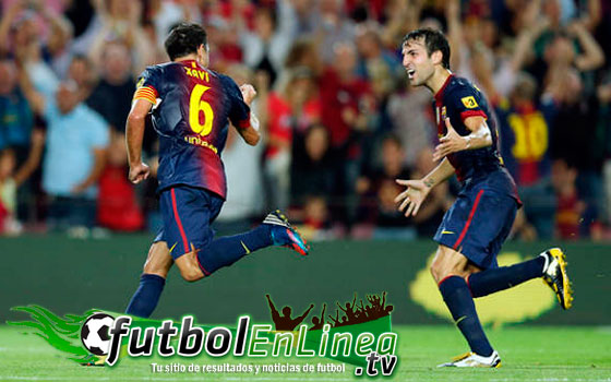 Barcelona vs Rayo Vallecano 2012