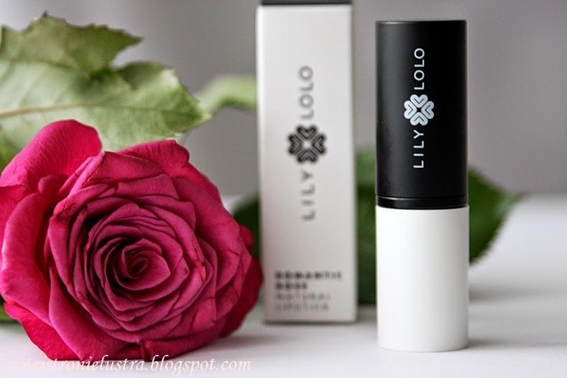 Naturalna pomadka Lily Lolo Romantic Rose