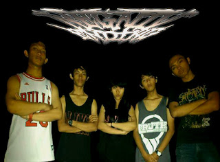 Negativ Ending Band Deathcore / Metalcore With Female Vocal Sidoarjo Jawa timur Indonesia Foto Images Logo Wallpaper