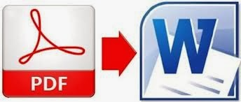 How to Convert PDF to Word,doc, File/ software and game tech
