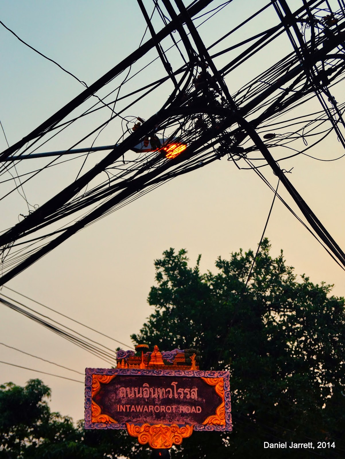 Life in Chiang Mai Wires