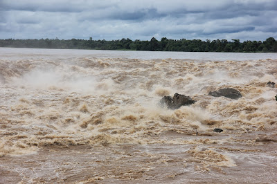 Waterfalls in 4000 islands of the Mekong