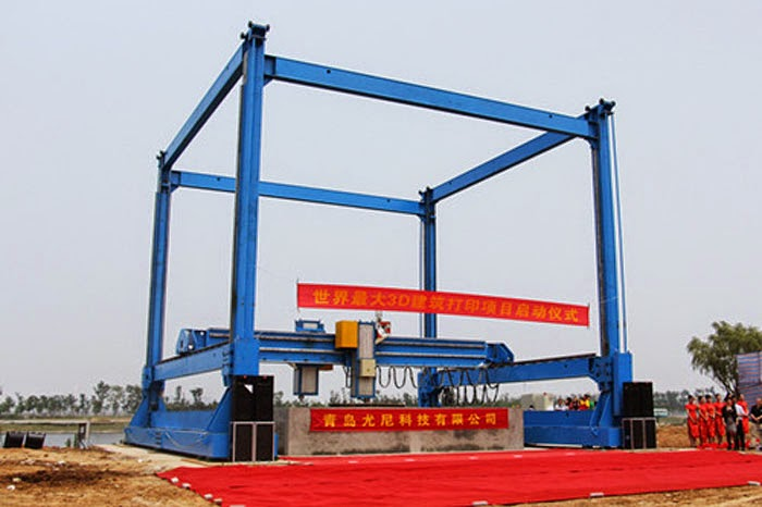 World Biggest 3D Printers are Printing a House