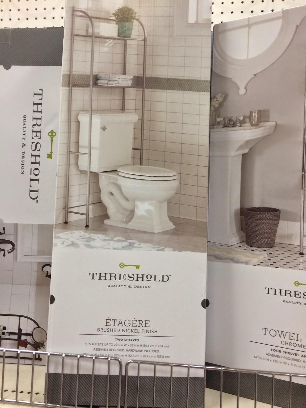 bathroom storage, target