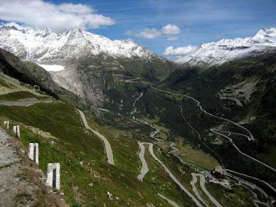 Estrada de Furka Pass – Suiça