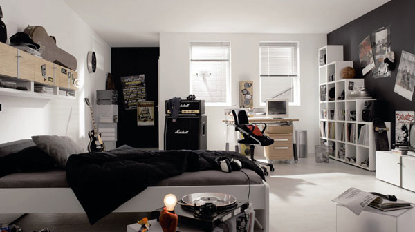 Modern Bedroom Design Ideas for Teenage Boys