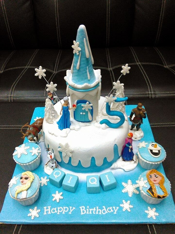 Lmis Cakes Cupcakes Ipoh Contact 0125991233 Frozen Theme