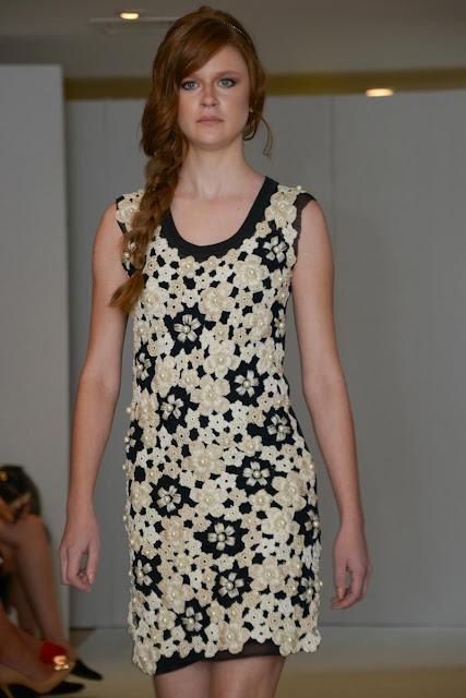 вязаное платье крючком,knitted dress,Strickkleid,Vanessa Montoro