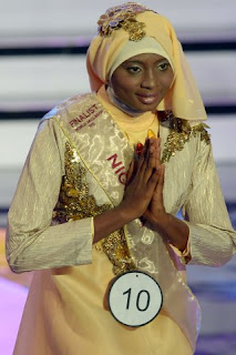 Nigerian woman crowned First Miss World Muslim