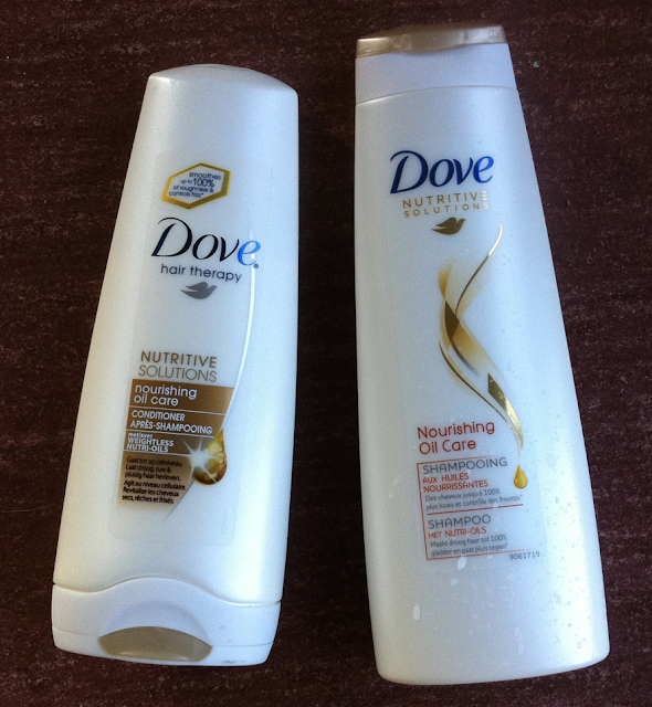 dove nourishing oil care product review