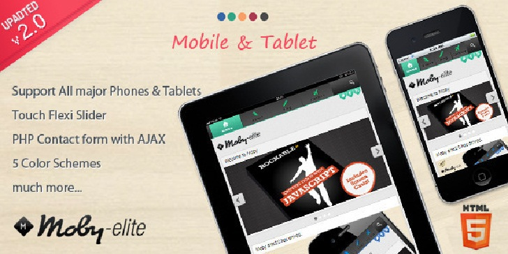 Moby Elite  Wordpress Mobile Theme
