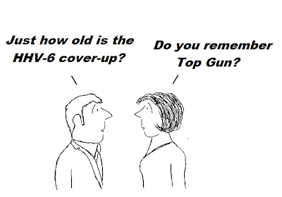 cartoon, cover-up, hhv-6, cdc, nih, epidemiology