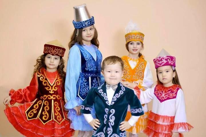 Foto : Kırgız Çocuklar