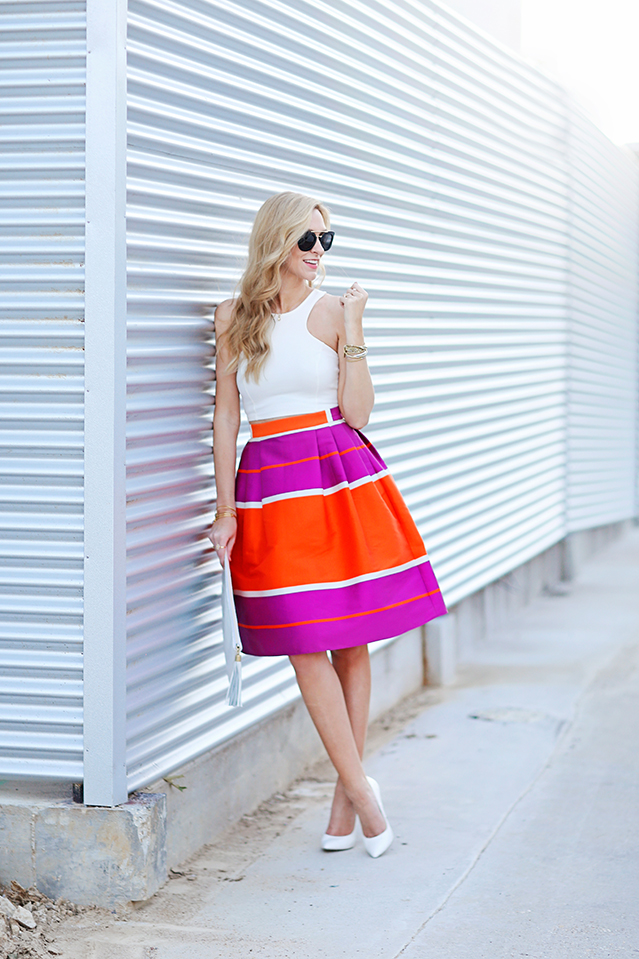 the midi skirt to wear to your next sumer party