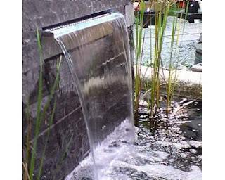 Casa dell  idraulica FERMO: cascata laminare acqua acciaio inox ...