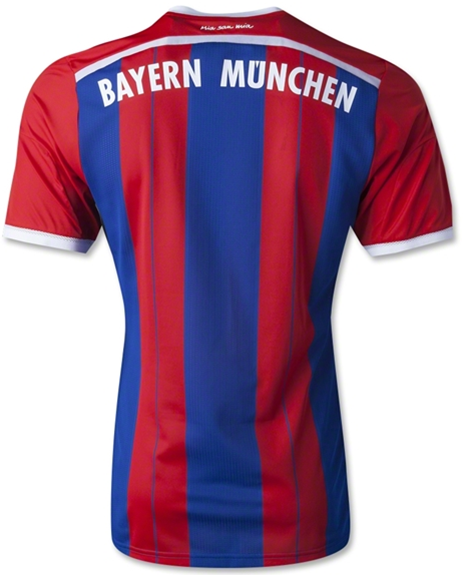 Jersey Bola Grade Ori Bayern Munchen 3rd 2014-2015