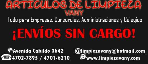ARTÍCULOS DE LIMPIEZA VANY