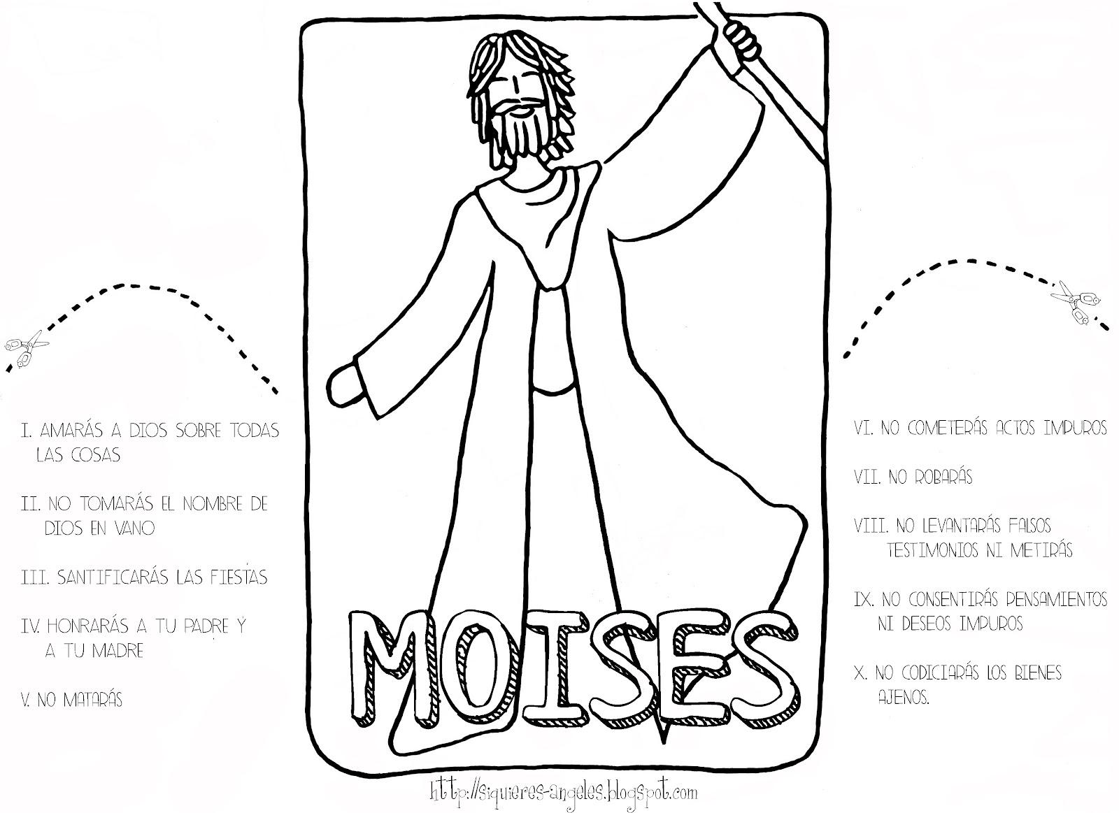 Si quieres aprender, ENSEÑA.: Moises 2