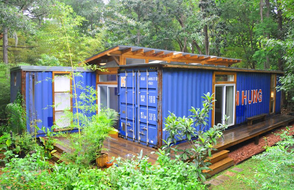 Shipping container homes 2 shipping container home savannah project price street projects - Bithcin shipping container house ii ...