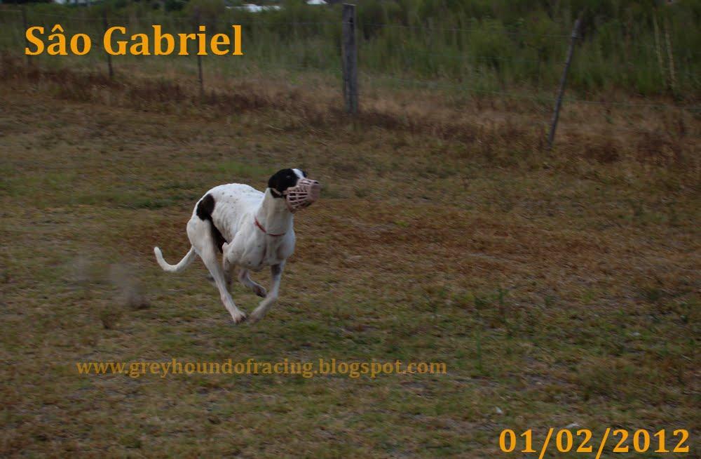 Trenando en Sâo Gabriel, 200 mts