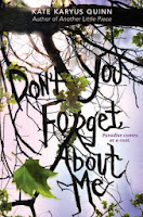 Don't You Forget About Me by Kate Karyus Quinn