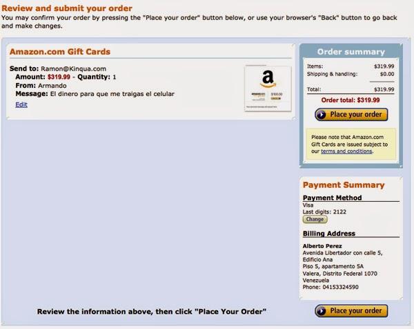 Como Comprar en Amazon (Actualizado - 2014) - Confirmar Orden