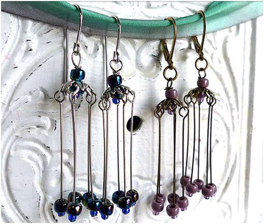 Chandelier Earrings Findings-Chandelier Earrings Findings