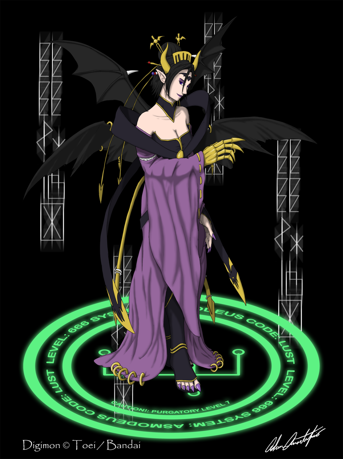 Characters Server Lilithmon