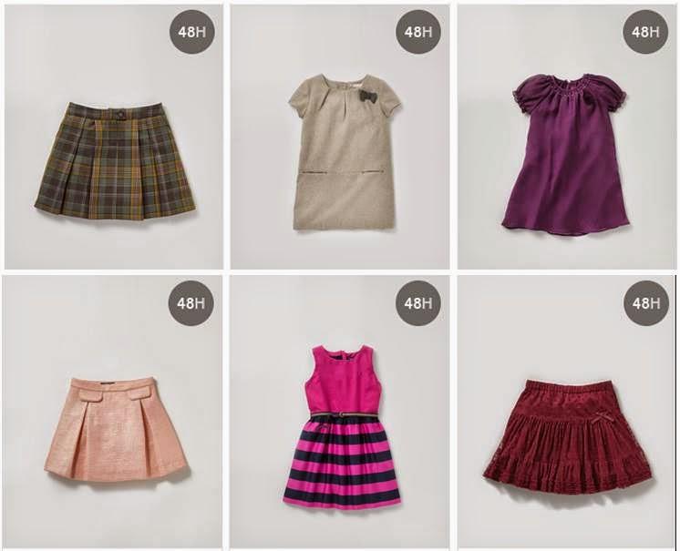 Faldas de Niñas El Corte Ingles 14-15