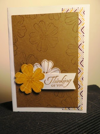 stamping on DSP zena kennedy independant stampin up demonstrator,