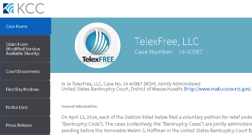 Confirmado para o dia 31 de Julho nova audiência da TelexFREE