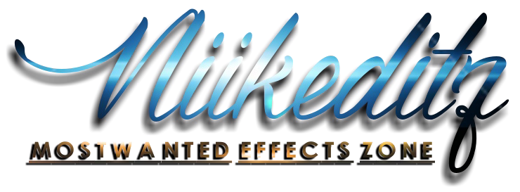 Niikeditz | MOSTWANTED EFFECTS ZONE