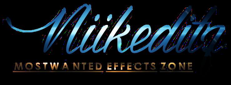 Niikeditz | MOSTWANTED EFFECTS ZONE
