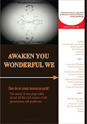 Awaken you wonderful we: How do we create heaven on earth? The secret of one page table reveal all