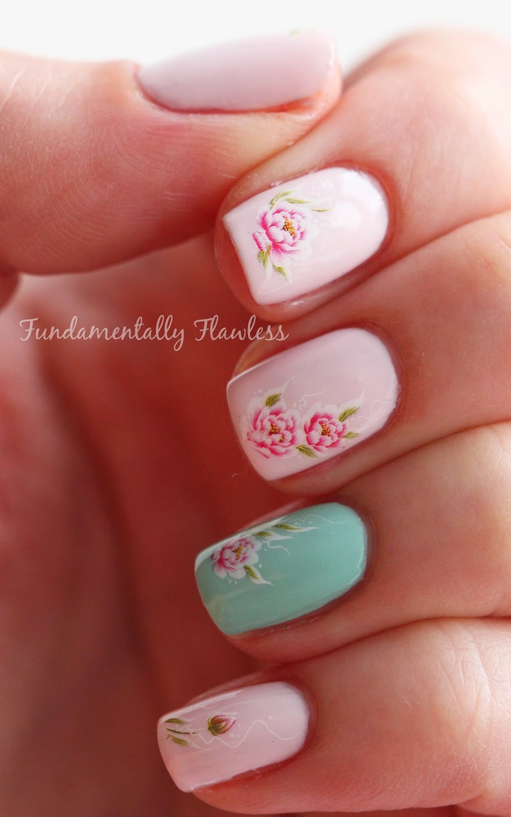 Born Pretty Store rose water decals