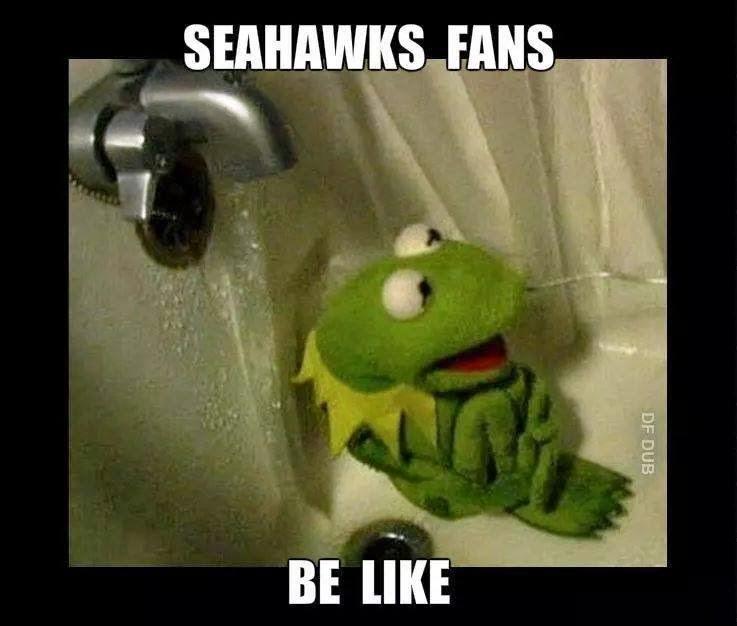 Dating a seahawks fan meme